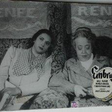 Cine: EMBRUJO - LOLA FLORES - MANOLO CARACOL - 1 FOTOCROMO ACARTONADO . Lote 15433774