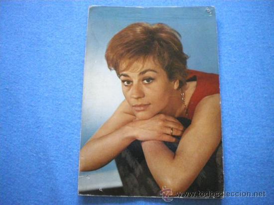 POSTAL AÑOS 60 ANNIE GIRARDOT SIN CIRCULAR (Cine - Fotos y Postales de Actores y Actrices)