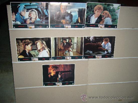 PROYECTO TERROR MICHAEL IRONSIDE COREY HAIM 7 FOTOCROMOS ORIGINALES (Cine - Fotos, Fotocromos y Postales de Películas)