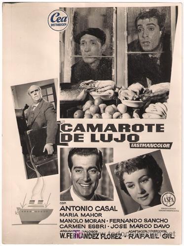 camarote de lujo 1957