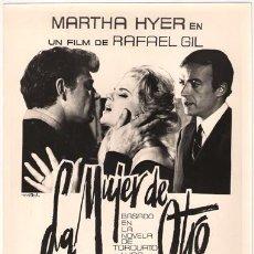 Cine: FCJ 2995 LA MUJER DE OTRO ANALIA GADE MARTHA HYER RAFAEL GIL FOTO B/N ORIGINAL ESPAÑOLA. Lote 16094633