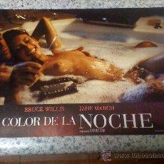 Cine: FOTOCROMO DE 'EL COLOR DE LA NOCHE', CON BRUCE WILLIS.. Lote 16393681
