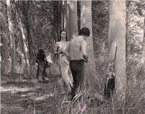 Fcj 3634 Amparo Muñoz Del Amor Y De La Muerte Desnuda Foto Bn Original Española