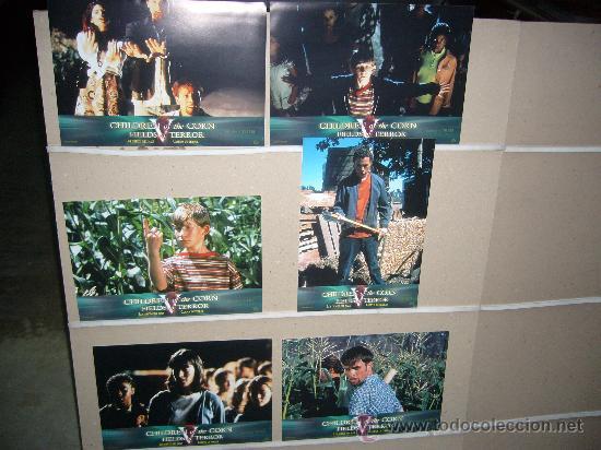 LOS CHICOS DEL MAIZ CAMPOS DEL TERROR JUEGO COMPLETO Q (Cine - Fotos, Fotocromos y Postales de Películas)