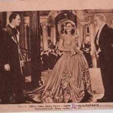 Cine: ESTAMPAS DEL CINEMA Nº 8. ROMANCE DE MGM.CON GRETA GARBO.(14,5X20). Lote 17416812