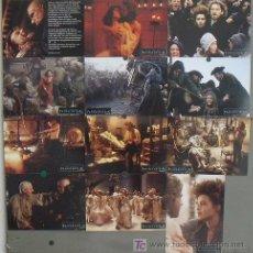 Cine: LH87 FRANKENSTEIN KENNETH BRANNAGH ROBERT DE NIRO SET 12 FOTOCROMOS ORIGINAL ALEMAN. Lote 70138577