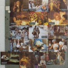 Cine: ZK56D AMADEUS MILOS FORMAN SET 16 FOTOCROMOS ORIGINAL ALEMAN. Lote 17480711