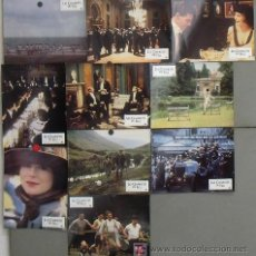 Cine: LK52 CARROS DE FUEGO HUGH HUDSON OLIMPIADAS SET B 10 FOTOCROMOS ORIGINAL FRANCES. Lote 17521793