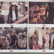 Cine: LL14 HOOK STEVEN SPIELBERG JULIA ROBERTS SET 8 FOTOCROMOS ORIGINAL AMERICANO. Lote 17526335