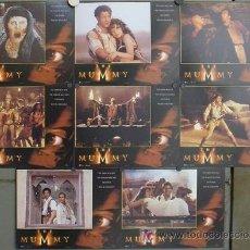 Cine: LL40 LA MOMIA THE MUMMY BRENDAN FRASER SET 8 FOTOCROMOS ORIGINAL INGLES. Lote 17585015