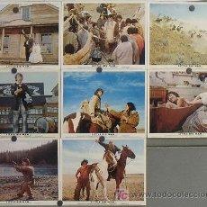 Cine: LL59 PEQUEÑO GRAN HOMBRE DUSTIN HOFFMAN SET 8 FOTOCROMOS ORIGINAL INGLES. Lote 17586044