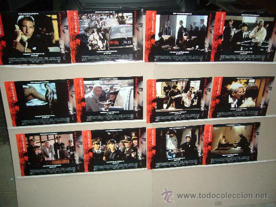 EL LABERINTO ROJO RICHARD GERE JUEGO COMPLETO (Cine - Fotos, Fotocromos y Postales de Películas)