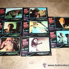 Cine: BAD TASTE MAL GUSTO PETER JACKSON GORE JUEGO COMPLETO . Lote 44467522