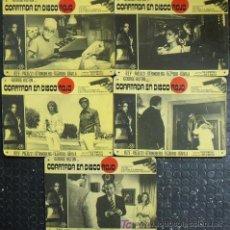 Cine: MD50 COARTADA EN DISCO ROJO GIALLO GEORGE HILTON PALUZZI SET 16 FOTOCROMOS CARTON ORIGINAL ESTRENO. Lote 18723964