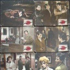 Cine: MD60 LOS DESAMPARADOS JOSE CAMPOS MARTA PADOVAN SANTILLAN SET 8 FOTOCROMOS CARTON ORIGINAL ESTRENO. Lote 18726560