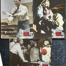 Cinema: MD72 DULCE PAJARO DE JUVENTUD PAUL NEWMAN GERALDINE PAGE SET 3 FOTOCROMOS CARTON ORIGINAL ESPAÑOL. Lote 18727084