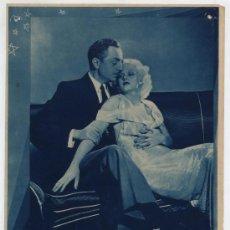 Cine: LA INDÓMITA. FOTO CROMO (24,5X19) CON JEAN JARLOW Y WILLIAM POWELL.. Lote 18718589