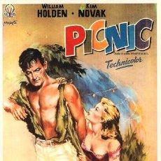 Cinéma: SPA057 COL. SPANISH POSTERS PICNIC WILLIAM HOLDEN KIM NOVAK 10X15 CM. POSTAL ELEGIR 13X10€ - 50X30€. Lote 35988120