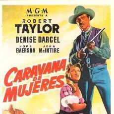 Cinéma: SPA256 COL. SPANISH POSTERS CARAVANA DE MUJERES 10X15 CM. POSTAL A ELEGIR 13X10€ - 50X30€. Lote 18981060