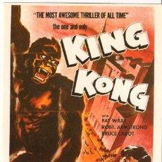 Cine: FAN033 COL. FANTASTICO KING KONG FAY WRAY 10X15 CM POSTAL A ELEGIR 13X10€- 50X30€. Lote 67293723