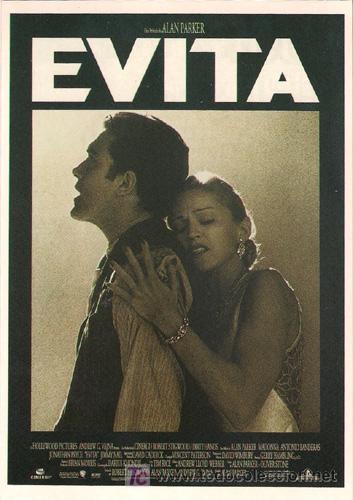 MEM359 COL. MEMORY EVITA MADONNA ANTONIO BANDERAS 10X15 CM POSTAL A ELEGIR 13X10€- 50X30€ (Cine - Fotos, Fotocromos y Postales de Películas)