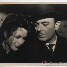 Cine: FOTOGRAFÍA (12X19) CON GEORGE BRENT.. Lote 19153036