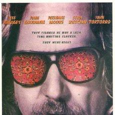 Cine: SCO144 COL. CINEMASCOPE EL GRAN LEBOWSKI ETHAN JOEL COEN 10X15 CM POSTAL A ELEGIR 13X10€ - 50X30€. Lote 197990351