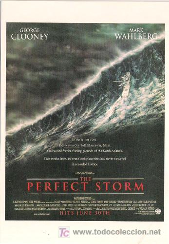 SCO381 COL. CINEMASCOPE LA TORMENTA PERFECTA GEORGE CLOONEY 10X15 CM POSTAL A ELEGIR 13X10€ - 50X30€ (Cine - Fotos, Fotocromos y Postales de Películas)
