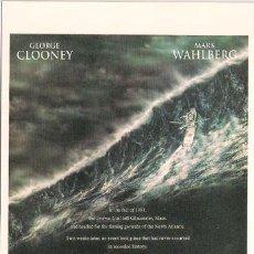 Cine: SCO381 COL. CINEMASCOPE LA TORMENTA PERFECTA GEORGE CLOONEY 10X15 CM POSTAL A ELEGIR 13X10€ - 50X30€. Lote 206821552