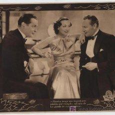 Cine: CUANDO EL DIABLO ASOMA.FOTOCROMO (20X24,5) CON JOAN CRAWFORD Y ROBERT MONTGOMERY.. Lote 19565129
