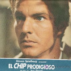 Cine: EL CHIP PRODIGIOSO FOTOCROMO ORIGINAL STEVEN SPIELBERG. Lote 20561828