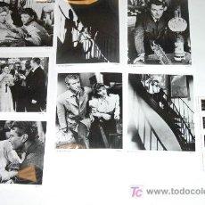 Cine: LOTE 7 FOTOS B/N LA ESCALERA DE CARACOL + 12 DIAPOS DOROTHY MCGUIRE ROBERT SIODMAK ETHEL BARRYMORE. Lote 20573444
