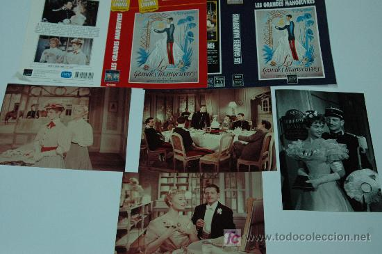 LAS MANIOBRAS DEL AMOR - LOTE 4 FOTOS 13X18 + 2 CARATULAS MICHELLE MORGAN BRIGITTE BARDOT (Cine - Fotos, Fotocromos y Postales de Películas)