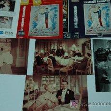 Cine: LAS MANIOBRAS DEL AMOR - LOTE 4 FOTOS 13X18 + 2 CARATULAS MICHELLE MORGAN BRIGITTE BARDOT. Lote 20588543