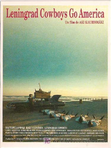 MRK098 COL. MR K LENINGRAD COWBOYS GO AMERICA AKI KAURISMAKI 10X15 CM POSTAL ELEGIR 13X10€ - 50X30€ (Cine - Fotos, Fotocromos y Postales de Películas)