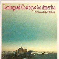 Cine: MRK098 COL. MR K LENINGRAD COWBOYS GO AMERICA AKI KAURISMAKI 10X15 CM POSTAL ELEGIR 13X10€ - 50X30€. Lote 206821466
