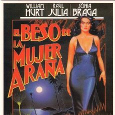 Cinéma: MRK016 COL. MR K EL BESO DE LA MUJER ARAÑA 10X15 CM POSTAL A ELEGIR 13X10€ - 50X30€. Lote 20606049