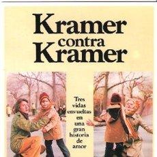 Cine: MRK026 COL. MR K KRAMER CONTRA KRAMER HOFFMAN STREEP 10X15 CM POSTAL A ELEGIR 13X10€ - 50X30€. Lote 101047351