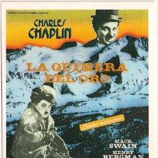 Cinéma: MER019 COL. MERCURI LA QUMERA DEL ORO CHARLES CHAPLIN 10X15 CM POSTAL A ELEGIR 13X10€ - 50X30€. Lote 56934378
