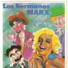 Cine: MER046 COL. MERCURI AMOR EN CONSERVA HERMANOS MARX 10X15 CM POSTAL A ELEGIR 13X10€ - 50X30€. Lote 101047120