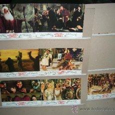 Cine: LA LOCA HISTORIA DEL MUNDO MEL BROOKS 7 FOTOCROMOS ORIGINALES. Lote 5906106