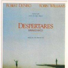 Cine: MER352 COL. MERCURI DESPERTARES ROBERT DE NIRO ROBIN WILLIAMS 10X15 CM POSTAL ELEGIR 13X10€ - 50X30€. Lote 206821512