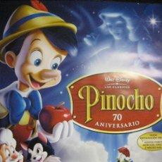 Cine: POSTER PINOCHO PORTADA ORIGINAL PELICULA DISNEY-MEDIDAS 97CM ALTO POR 67,5 ANCHO . . Lote 40048311