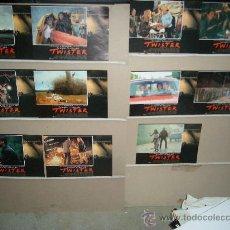 Cinema: TWISTER BILL PAXTON HELEN HUNT 11 FOTOCROMOS ORIGINALES YY. Lote 21298596