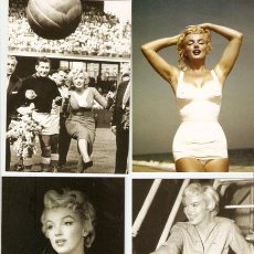 Cine: 8 POSTALES DISTINTAS MARILYN MONROE -FOTOS: SAM SHAW & SHAW FAMILY ARCHIVES - VELL I BELL. Lote 37822930