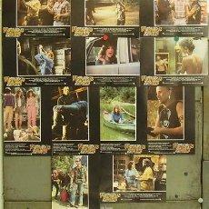 Cine: MX26 VIERNES 13 3 STEVE MINER SET COMPLETO 12 FOTOCROMOS ORIGINAL ESTRENO. Lote 21673375