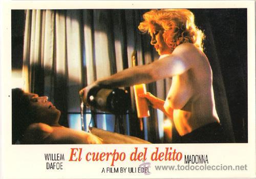 MER810 COL. MERCURI EL CUERPO DEL DELITO MADONNA 10X15 CM POSTAL A ELEGIR 13X10€ - 50X30€ (Cine - Fotos, Fotocromos y Postales de Películas)