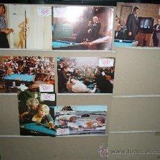 Cine: JUGADORES DE VENTAJA BALTIMORE BULLET JAMES COBURN OMAR SHARIF BILLAR 7 FOTOCROMOS ORIGINALES . Lote 22373799