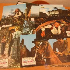 Cine: 11 FOTOGRAMAS EL RETORNO DE CLINT EL SOLITARIO, KLAUS KINSKI 1972. Lote 23012326