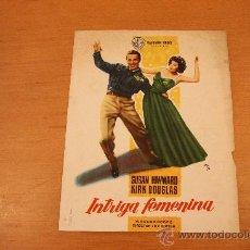 "Cine: KIRK DOUGLAS ""INTRIGA FEMENINA"" 1959 SUSAN HAYWARD MCP. Lote 23020989"